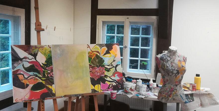 Atelierarbeit im Frühling/Sommer 2021